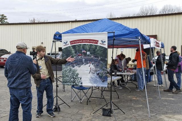 Veterans Monument Eagle Scout