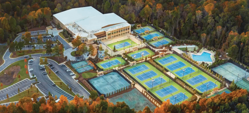 Life Time Tennis Facility