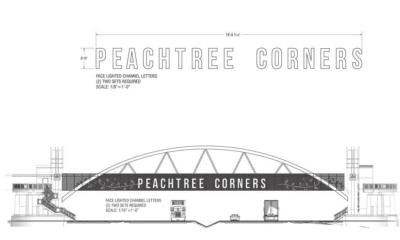 Peachtree Parkway Pedestrian Bridge