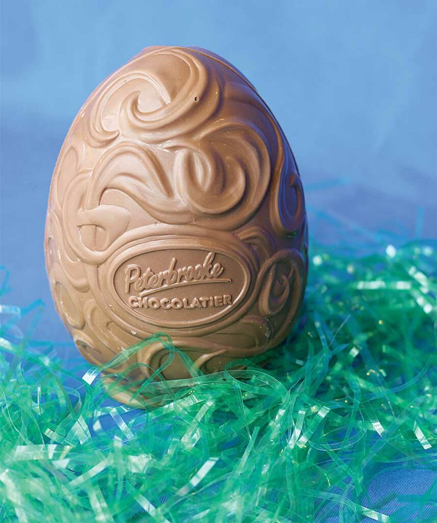 The Wonder Egg, Peterbrooke Chocolatier
