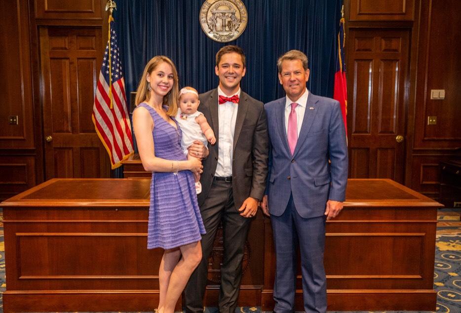 Austin McDonald and family