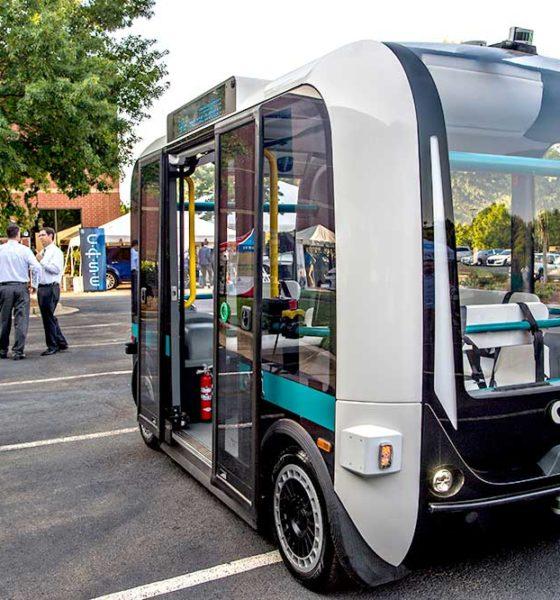 Olli Autonomous vehicle