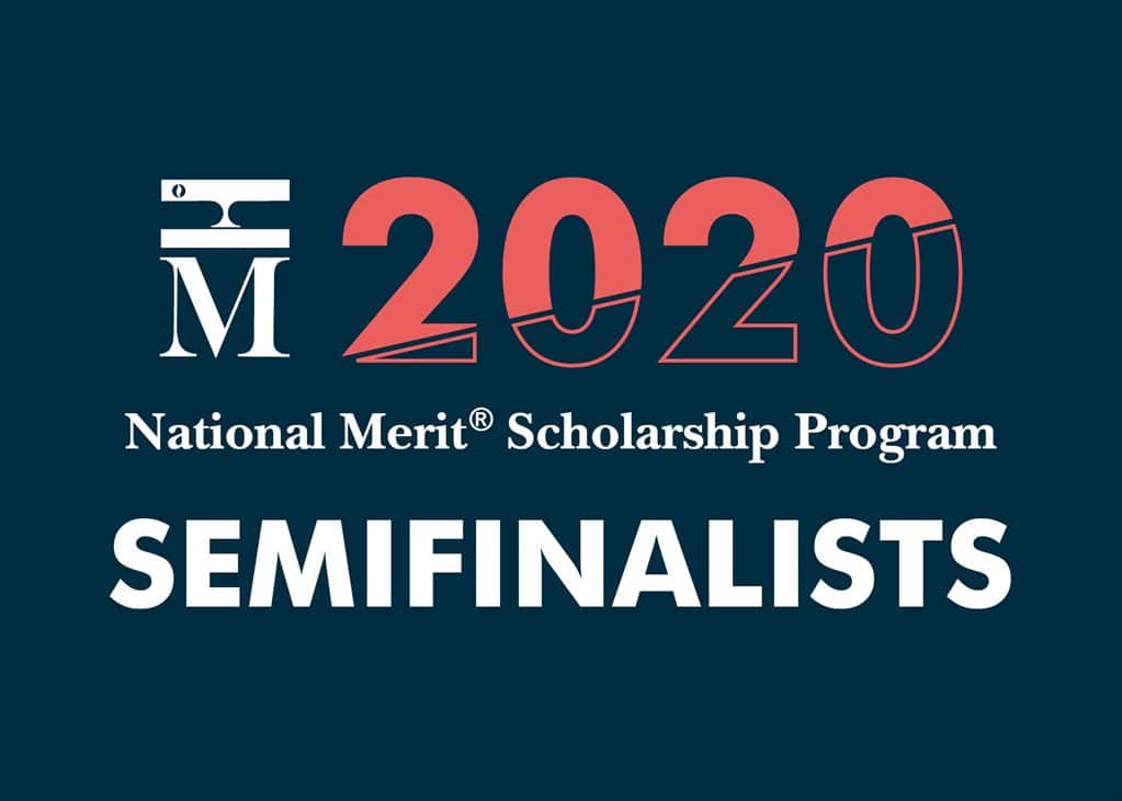 2020 National Merit Scholarship Competition