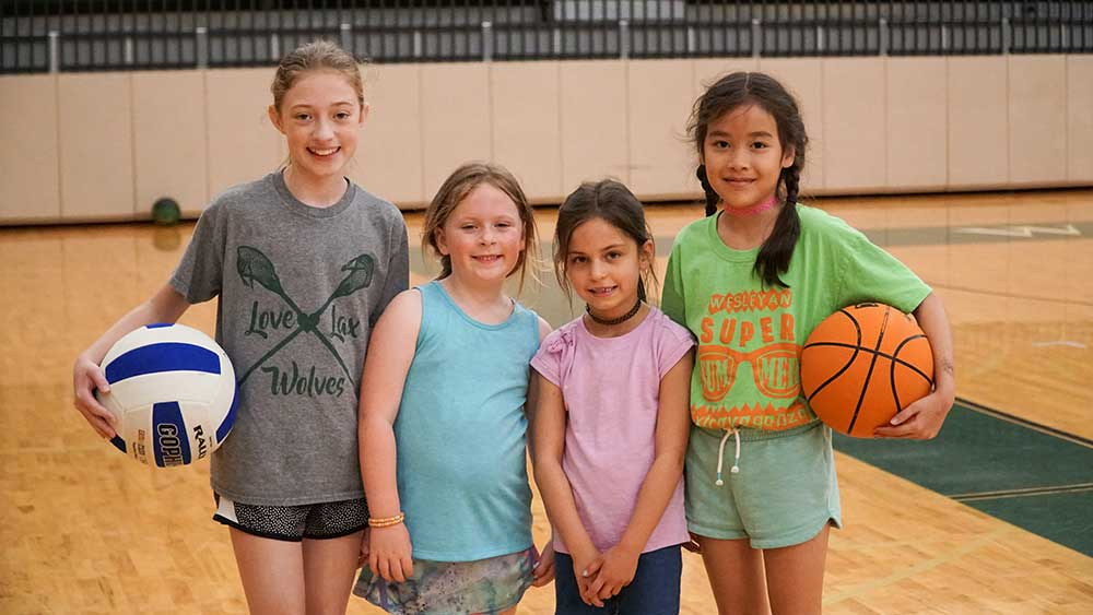 Wesleyan School Basketball Clinic