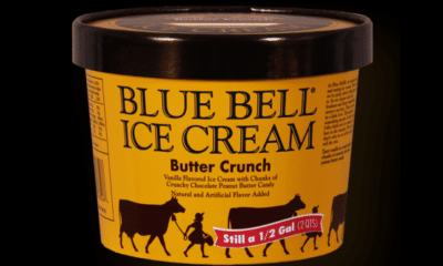 Blue Bell Butter Crunch Ice Cream