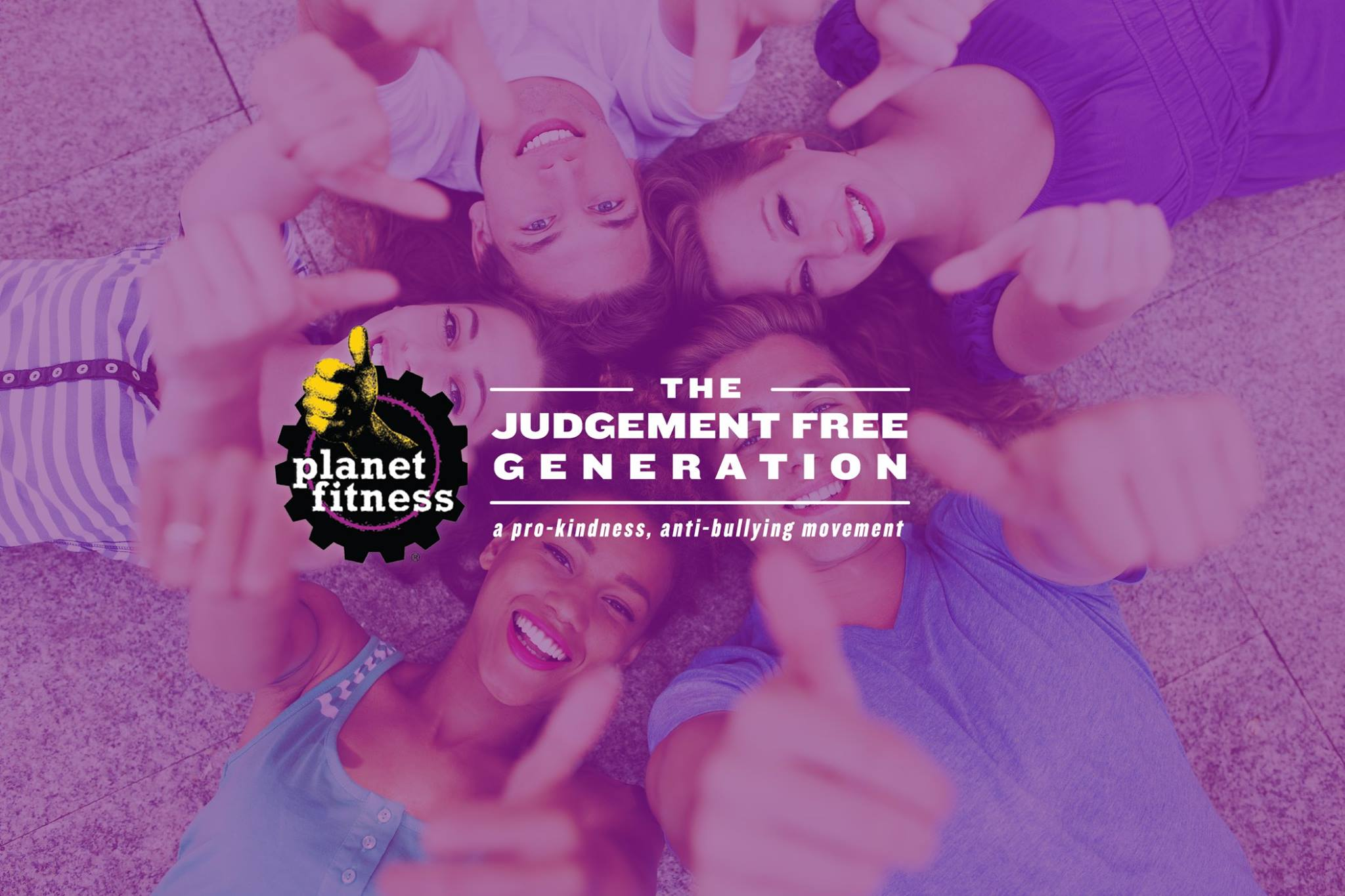 Planet Fitness Judgement free zone