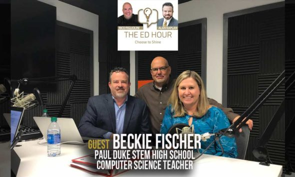 Beckie FIscher at The ED Hour podcast