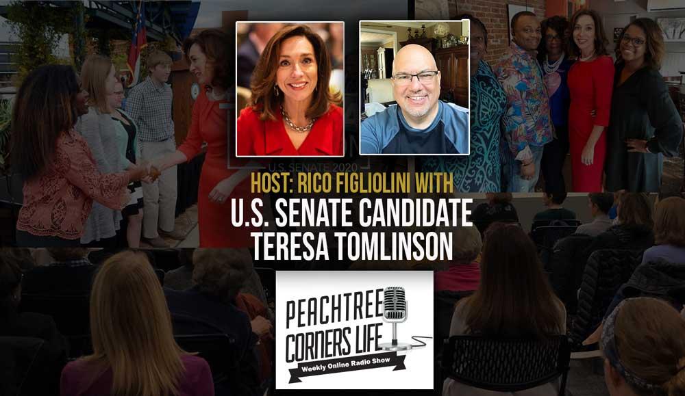 U.S. Senate Candidate Teresa Tomlinson