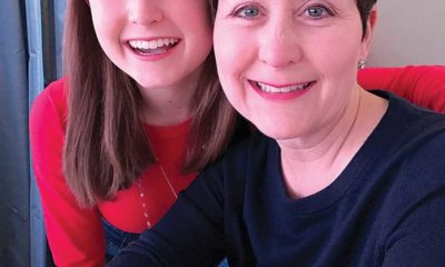 Aubrey DeAugustinis and her mom, Tara