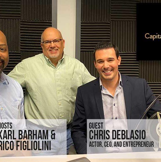 Capitalist Sage podcast with guest Chris DeBlasio