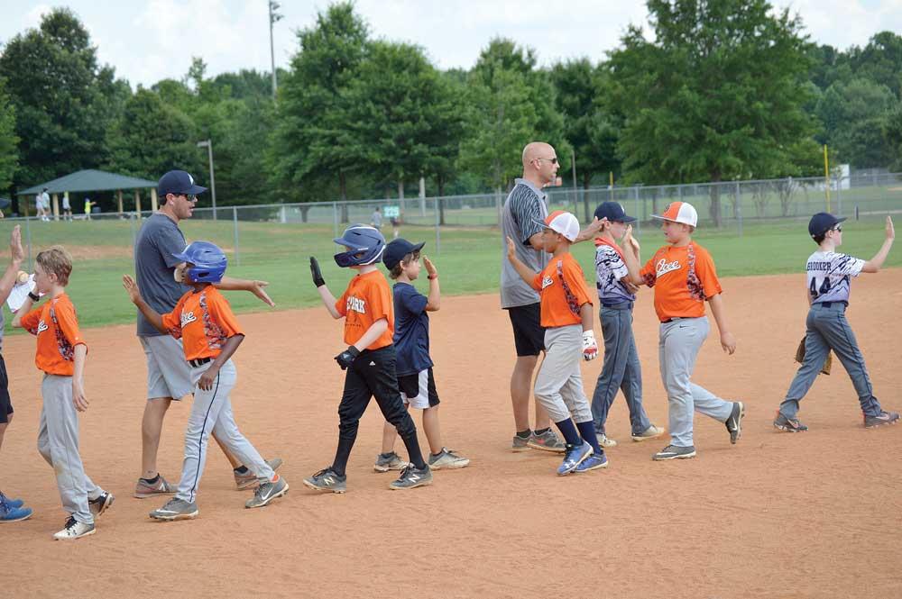 Pinckneyville Park youth baseball