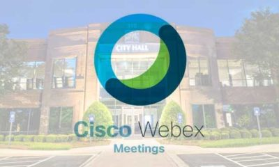 city government with webex