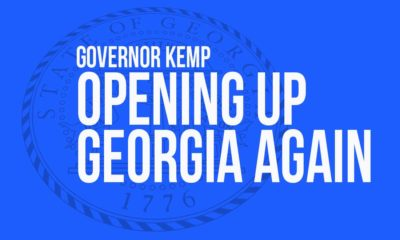 Kemp opening up Georgia
