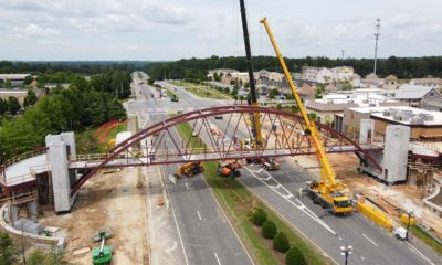 Peachtree Corners Pedestrian Bridge