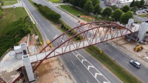 Peachtree Corners Pedestrian Bridge