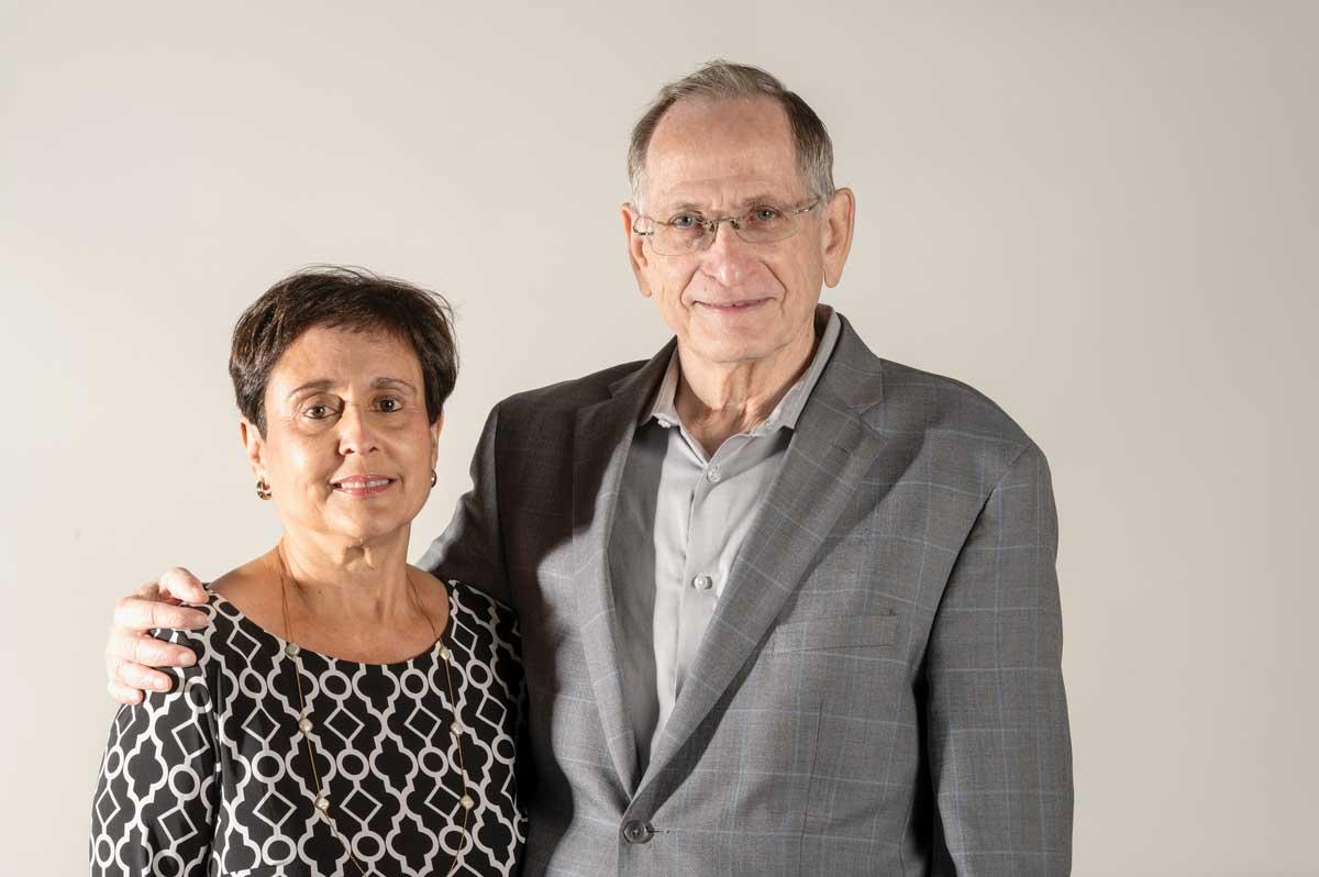 Miriam and Eddie Carreras