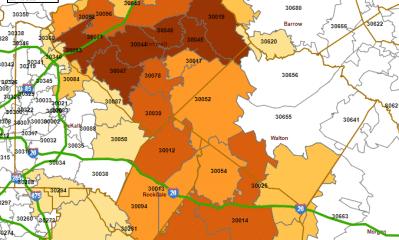 COVID-19 Case rates