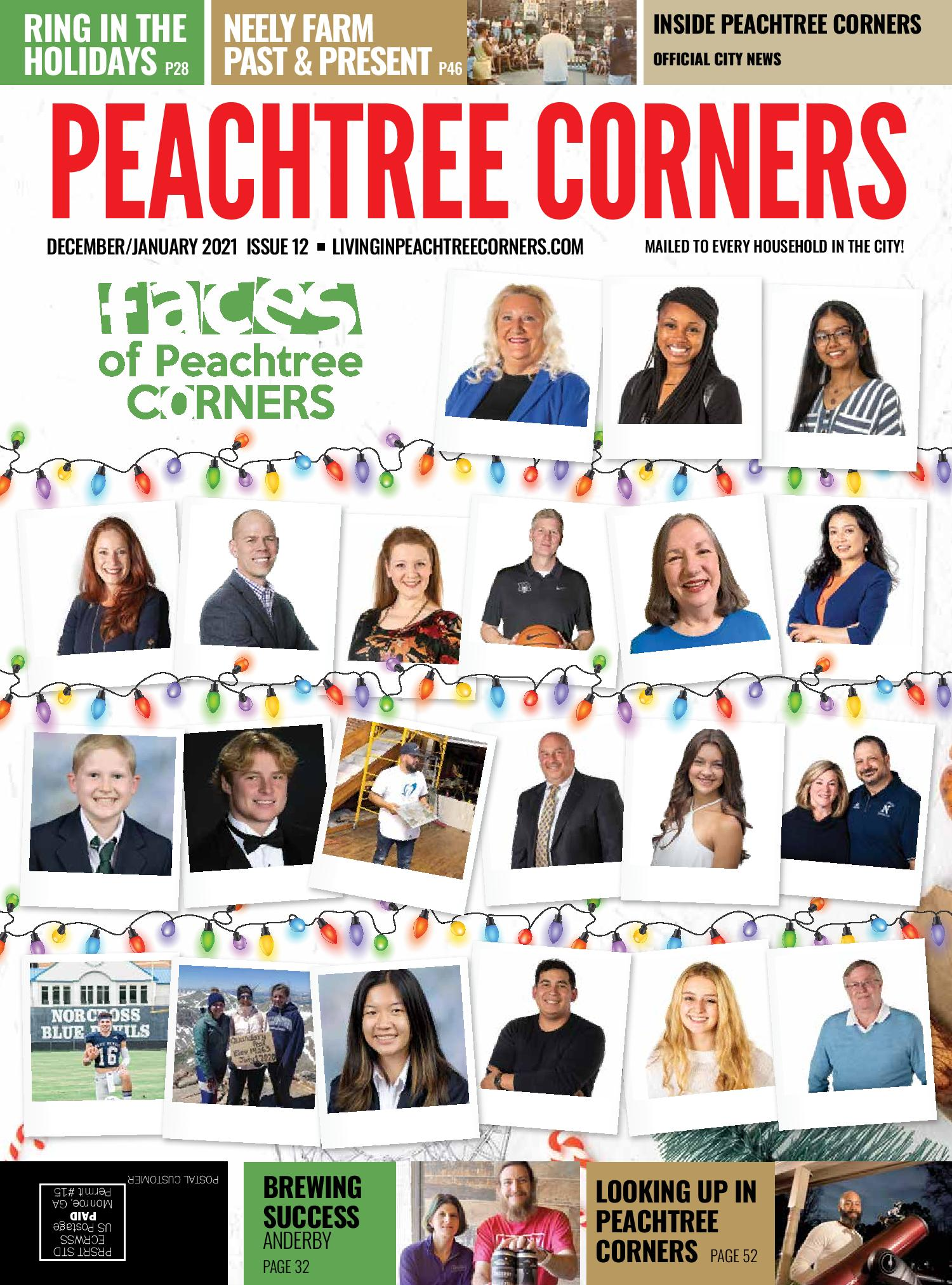 faces of peachtree corners 2021