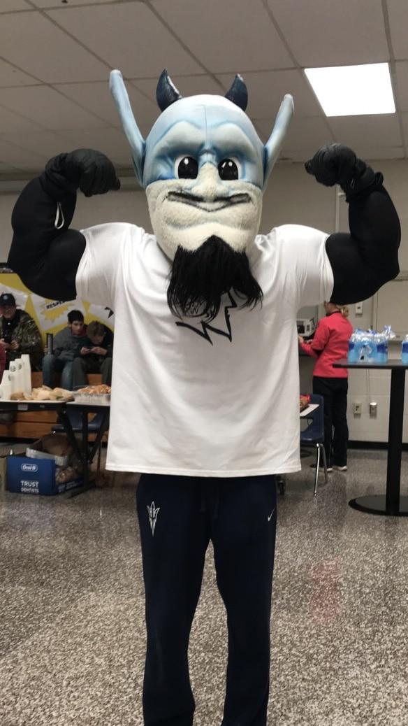 blue devils mascot