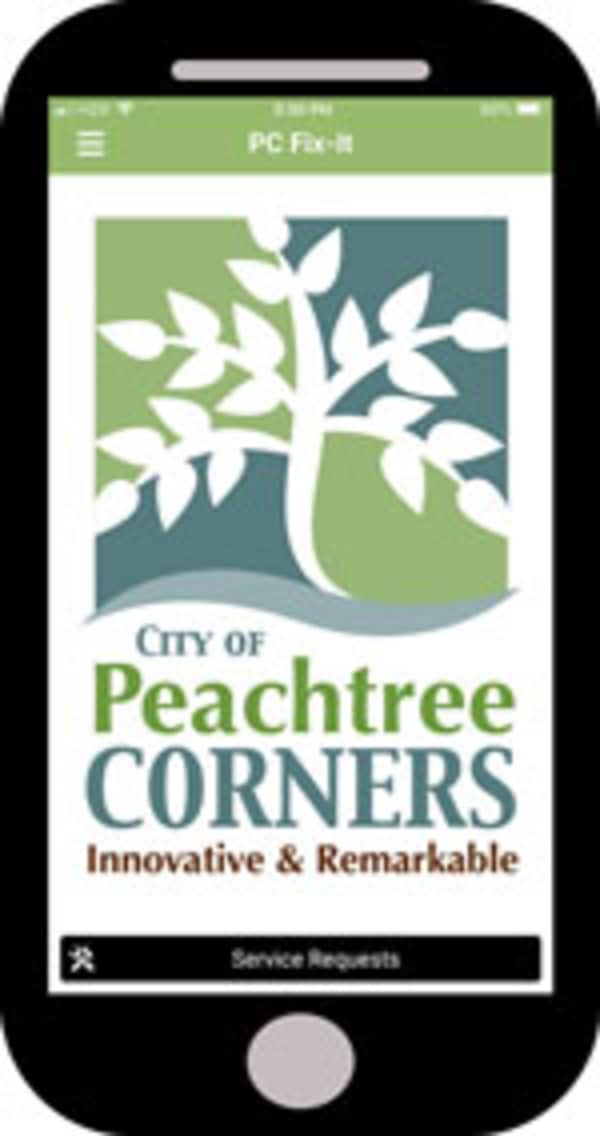 peachtree corners fix it app