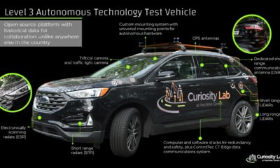 ford edge test vehicle curiosity lab