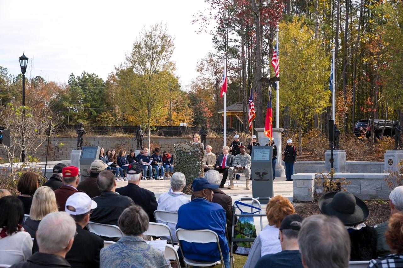 peachtree corners veterans monument association