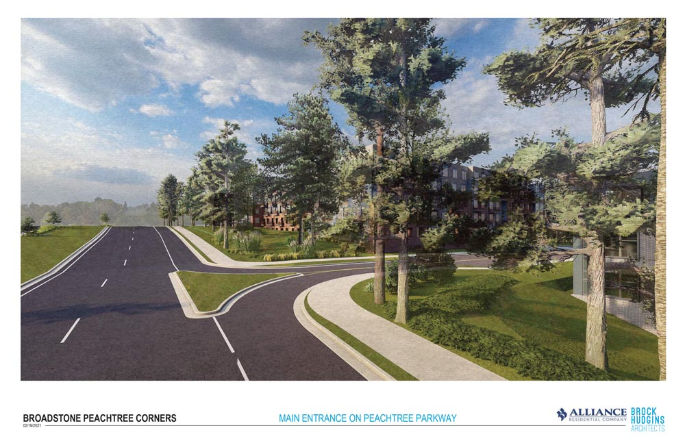First Multi-use Development in Peachtree Corners under the new MUD ordinance