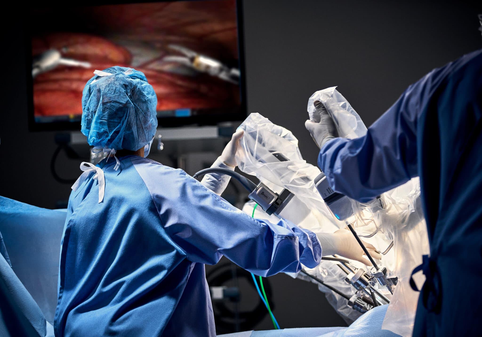 intuitive surgical da vinci
